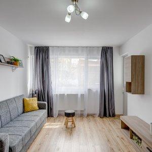 Apartament renovat, 2 min. Metrou Jiului, 0% comision