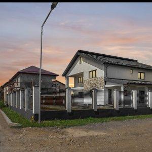 Bragadiru- Vila p+1 - lot teren 680 mp - constructie 2018